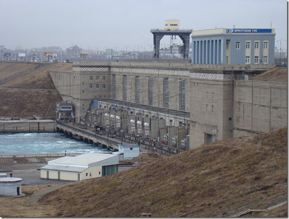 Irkutskaya HPP (belongs to EuroSibEnergo) alters the level of Lake Baikal