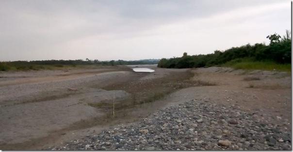 Dry Cauca River, February 2019 (Image: Camilo Andres Marin)