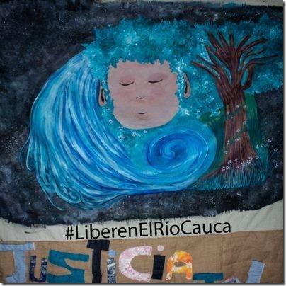 liberate Cauca river
