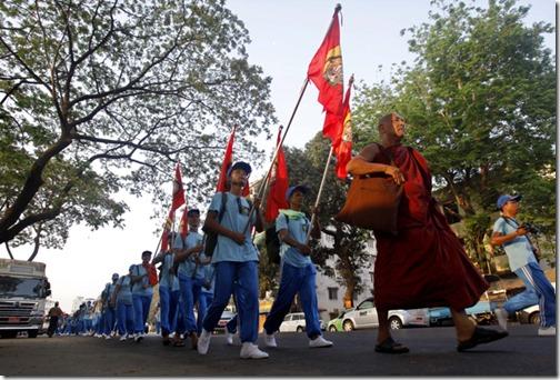 MYANMAR DAM PROTEST